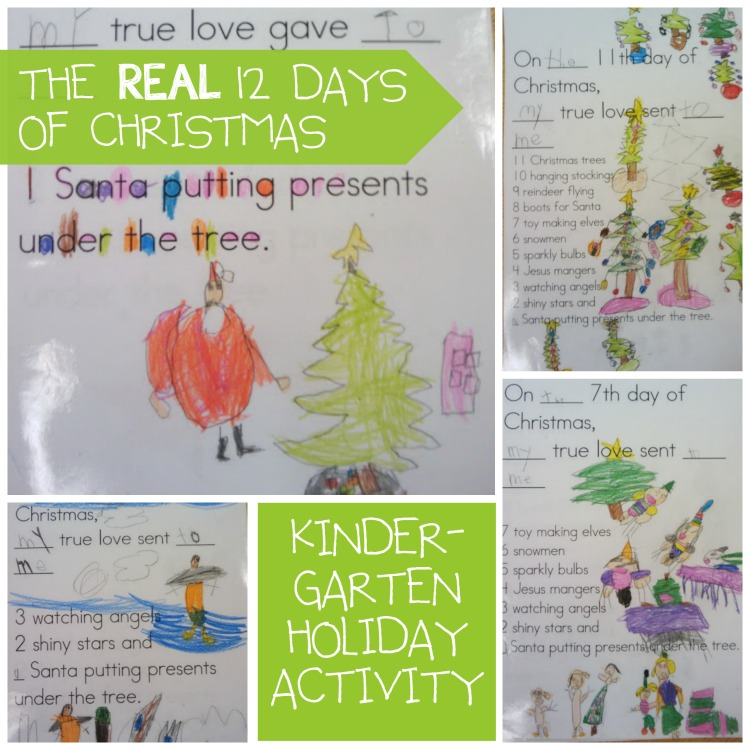Kinder Garden: The Real 12 Days Of Christmas