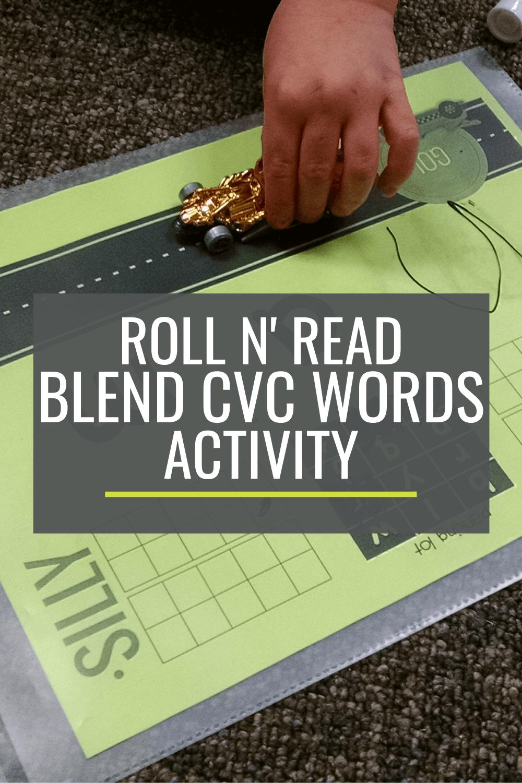 Roll n\' Read: A Fun Way to Blend CVC Words in Kindergarten