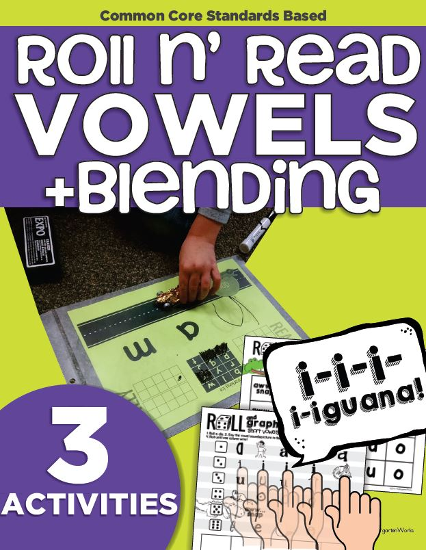 Fun Way to Get Kinders Blending CVC Words