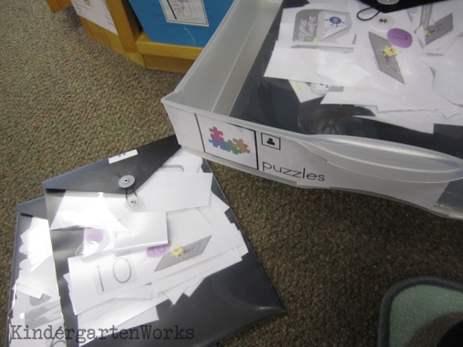 Keeping Math Games Zone Simple - Differentiated Activities Within a Drawer