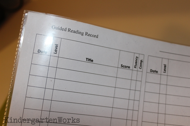 Organizing Your Guided Reading Binder - 6 Simple Ways - Keep Master Copy in Back
