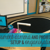 Document Camera and Projector Setup & Organization