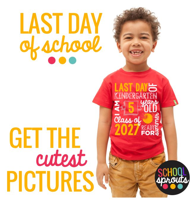 last day of school subway art - Introducing School Sprouts - Cool Shirts for Kids