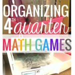 organizing math games end of the year