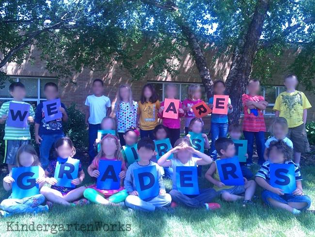End of the Year Class Photo Kindergarten - KindergartenWorks