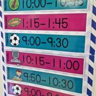Weekly Specials Schedule Poster