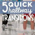 5 Quick Hallway Transitions {Printable} KindergartenWorks