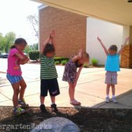 Spelling Kindergarten Sight Words: A Kinesthetic Way to Learn