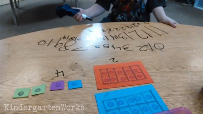 kindergarten numbers to 20 common core decomposing