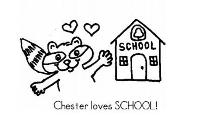 (27 Fresh Kissing Hand Freebies and Teaching Resources) Chester Loves School Emergent Reader - KindergartenWorks.com