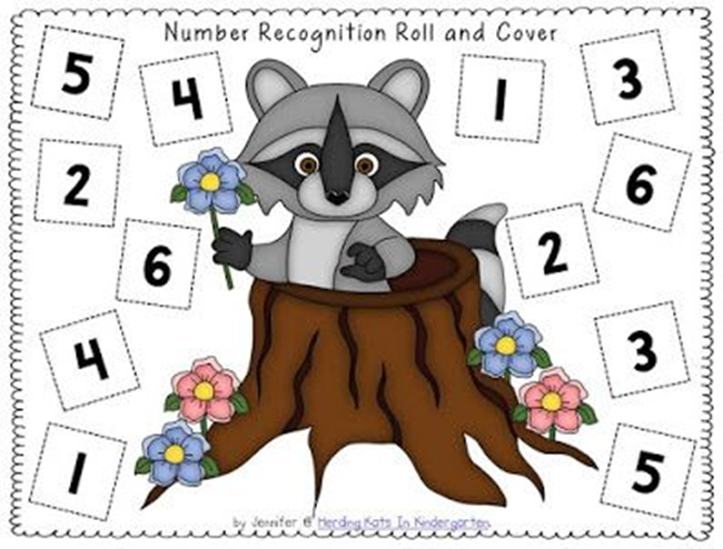 (27 Fresh Kissing Hand Freebies and Teaching Resources) Chester Raccoon Roll and Cover - KindergartenWorks.com