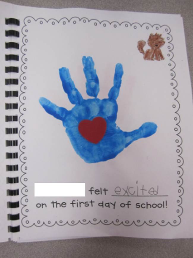 5 Activities You Shouldn't Skip the First Week of Kindergarten - First Day of School Feelings Class Book - KindergartenWorks.com
