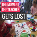 The moment the teacher gets lost - KindergartenWorks