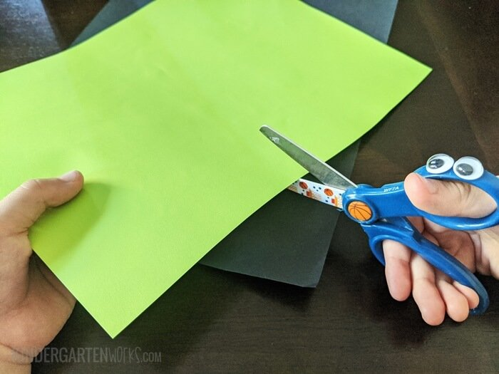 teach how to hold scissors thumbs up- KindergartenWorks