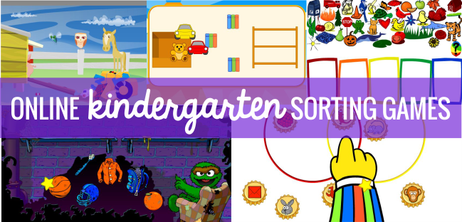 8 Tools to Teach Sorting in Kindergarten - online sorting games for kindergarten