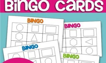 Describing 2D Shapes Bingo Cards {Freebie Printable}