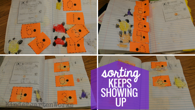 8 Tools to Teach Sorting in Kindergarten - ndergarten math journals sorting