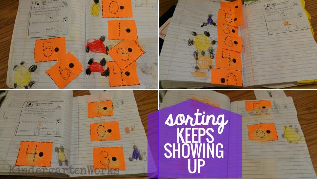 8 Tools to Teach Sorting in Kindergarten - ndergarten math journals sorting