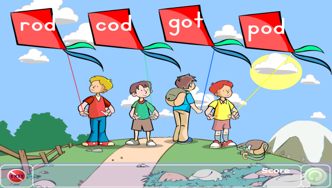 Ending Sounds - 9 Guided Reading Skill Group Materials {Printables} - Flying Kites Game Online