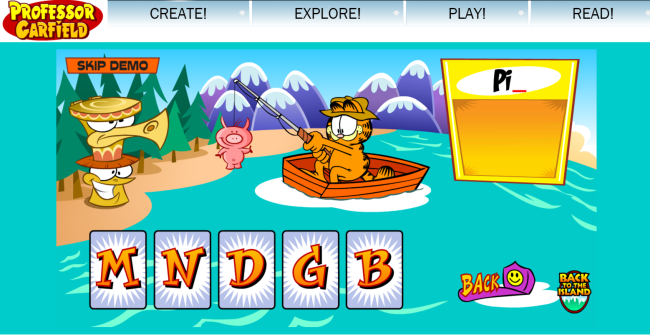Ending Sounds - 9 Guided Reading Skill Group Materials {Printables} - Garfield Fishing