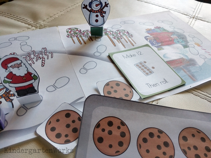 Composing and Decomposing Numbers 11 to 19 Christmas Game - cute