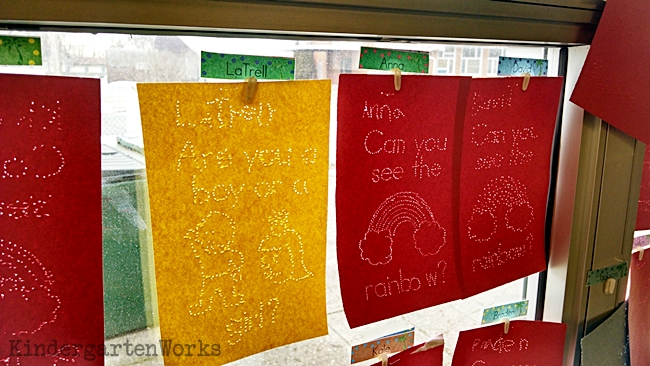 Sunlight Sight Word Catchers - Pokey Pin Activities