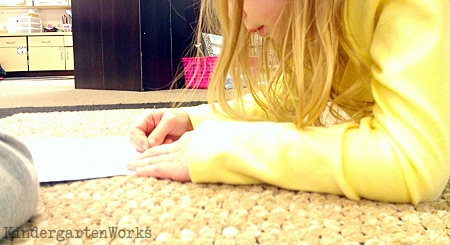 5 Activities You Shouldn't Skip the First Week of Kindergarten - Work on names by pokey pinning them