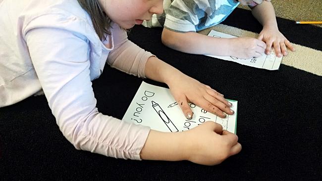 Pokey Pinning Literacy Center - KindergartenWorks