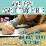 Pokey Pinning Literacy Center