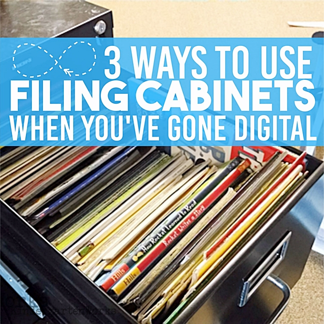 3 Ways to Use Filing Cabinets When You've Gone Digital - KindergartenWorks
