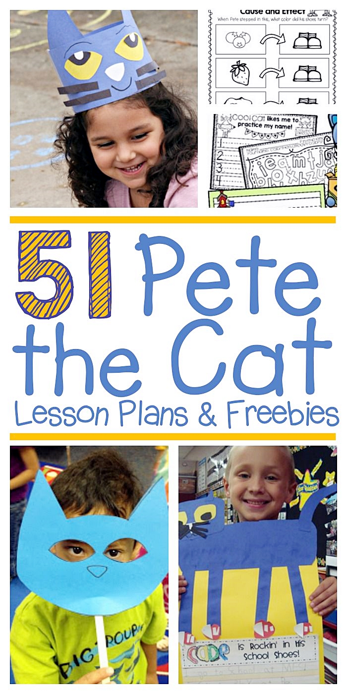 51 Groovy Pete The Cat Lesson Plans And Freebies Kindergartenworks