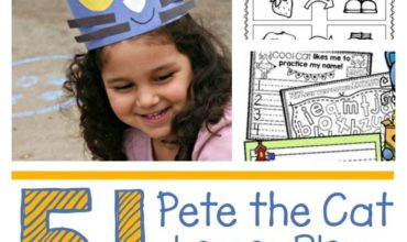 51 Pete the Cat Lesson Plans and Freebies - KindergartenWorks