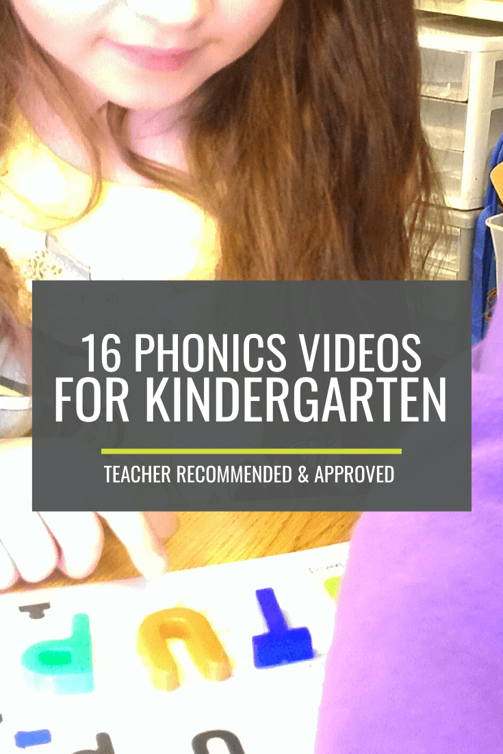16 Quick Phonics Videos for Kindergarten