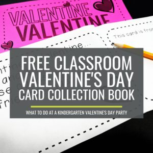 Valentine's Day Card Collection Book