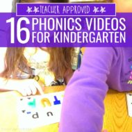 16 Phonics Videos for Kindergarten