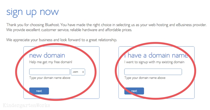 how to get free domain with bluehost
