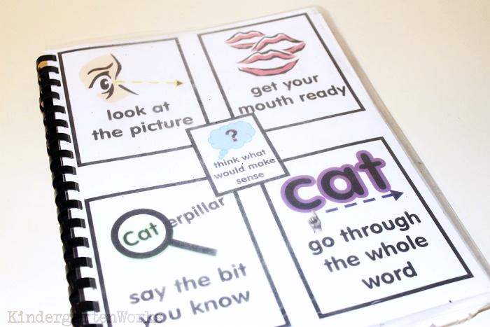Handy Guided Reading Mats for Kindergarten Groups - Guided Reading Strategies for Kindergarten - KindergartenWorks