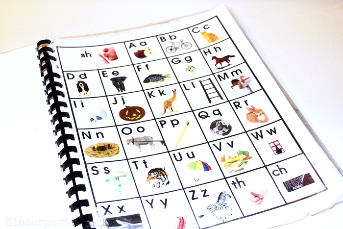 Handy Guided Reading Mats for Kindergarten Groups - Free Printable Alphabet Chart for Kindergarten - KindergartenWorks