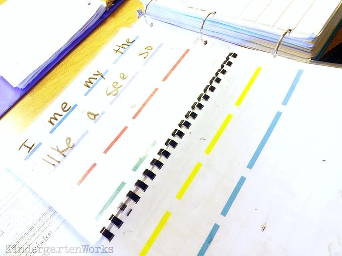Handy Guided Reading Mats for Kindergarten Groups - Spelling Sight Words for Kindergarten 24 Words List - KindergartenWorks