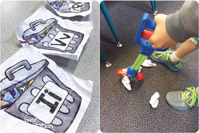 18 Last Minute Earth Day Ideas Letter Sound Review Trash Pick Up - KindergartenWorks