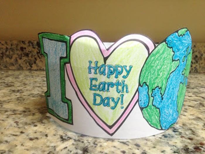 18 Last Minute Earth Day Ideas Earth Day Headband - KindergartenWorks