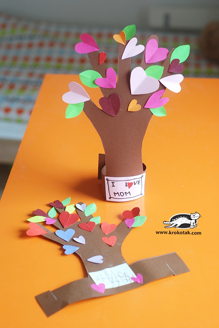 Creative and sweet kindergarten mother s day crafts