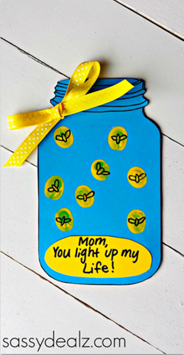 Mothers Day Lightening Bug Craft