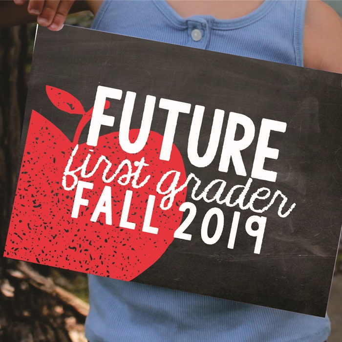 Future First Grader by KindergaartenWorks - End of the Year Photo Idea