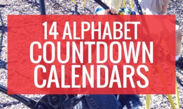 14 Alphabet Countdown Calendars: Here Comes the End of the Year!