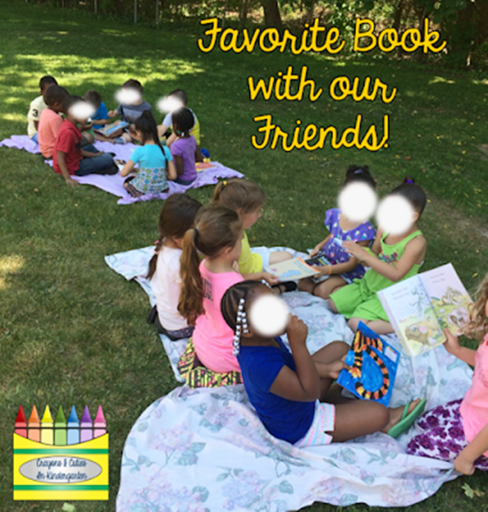 14 Alphabet Countdown Calendars - favorite books with friends for F day - KindergartenWorks