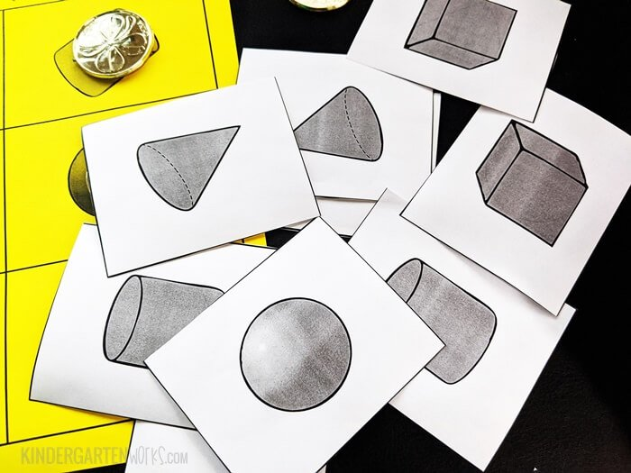 3D Calling Cards for Bingo Game