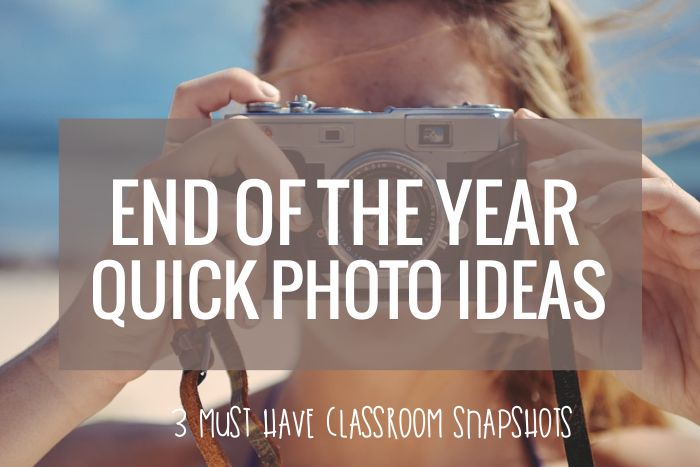 End of the Year Photo Ideas that are prefect for kindergarten