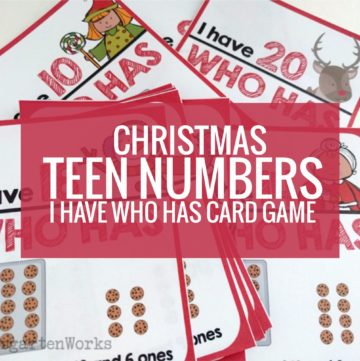 Free Christmas 11-19 I Have Who Has Game