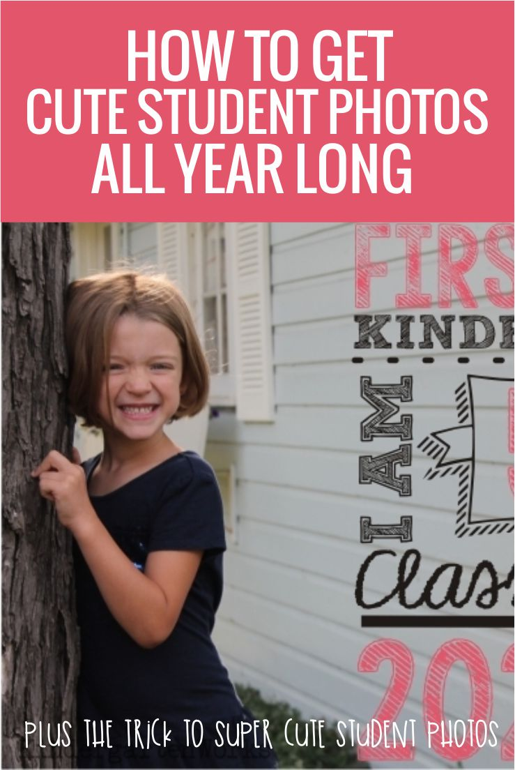 Make Monthly Photos of Your Students – It's Easy With These Overlays